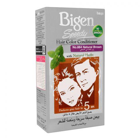 Bigen Speedy Hair Color Conditioner, Natural Brown 884