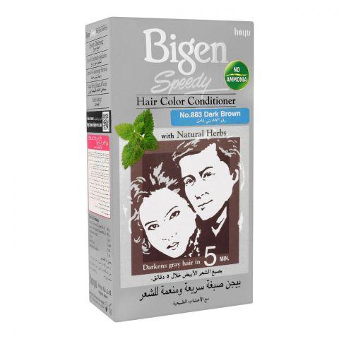 Bigen Speedy Hair Color Conditioner, Dark Brown 883