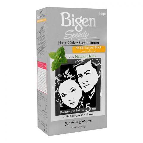 Bigen Speedy Hair Color Conditioner, Natural Black 881