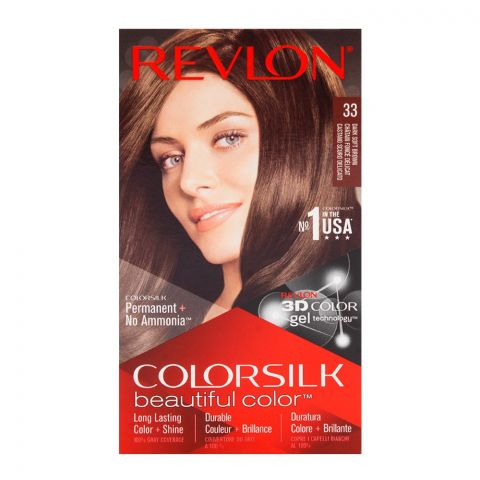 Revlon Colorsilk Dark Soft Brown Hair Color 33