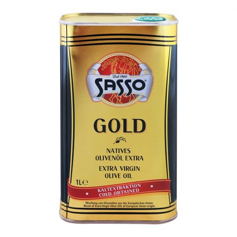 Sasso Extra Virgin Olive Oil Tin 1000ml