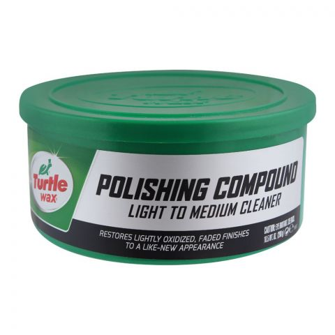 Turtle Wax Polishing Compound, Light To Medium Cleaner, 298g, T241A