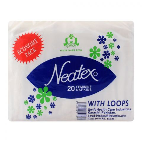 Neatex With Loops Economy Pack Napkins 20-Pack