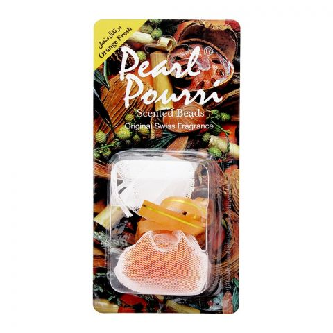 Pearl Pourri Scented Beads, Orange Fresh