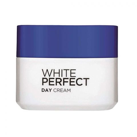 L'Oreal Paris White Perfect Day Cream, Whitening + Even Tone, SPF 17, 50ml
