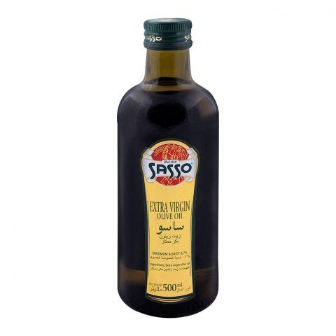 Sasso Extra Virgin Olive Oil Bottle 500ml