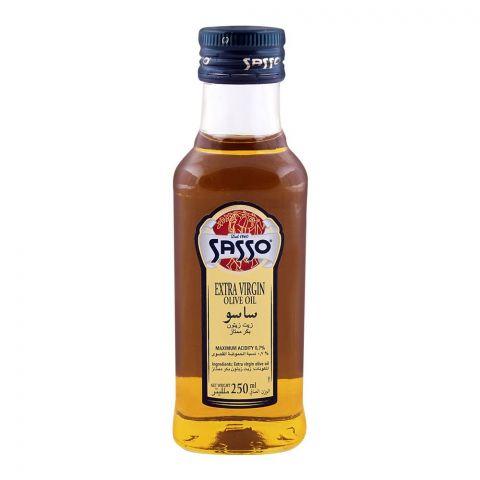 Sasso Extra Virgin Olive Oil 250ml Bottle
