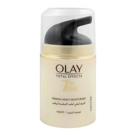 Olay Total Effect 7-In-1 Firming Night Moisturiser, 50ml