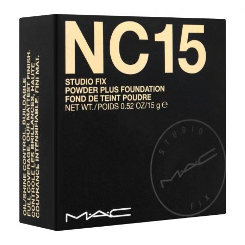 MAC Studio Fix Powder Plus Foundation, NC-15
