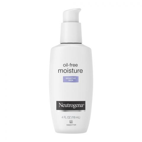 Neutrogena Oil-Free Moisture Facial Moisturizer, Sensitive Skin, 118ml