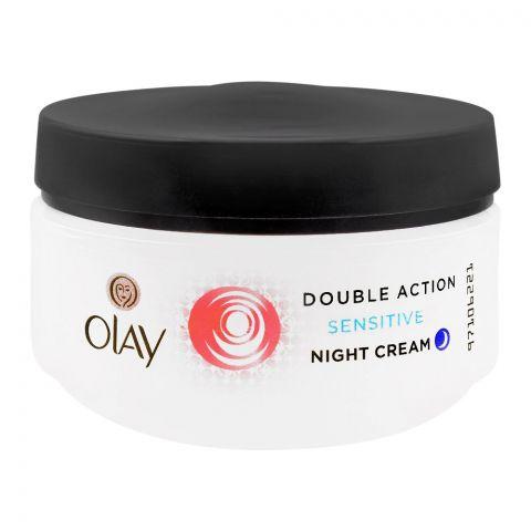 Olay Double Action Sensitive Night Cream, 50ml