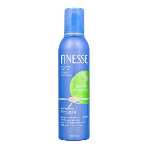 Finesse Shape + Strengthen Volumizing Hair Mousse, 198g
