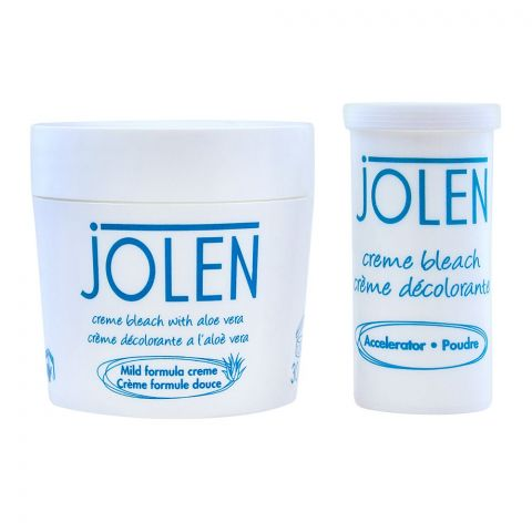 Jolen Creme Bleach, Mild Formula With Aloe Vera, 30ml