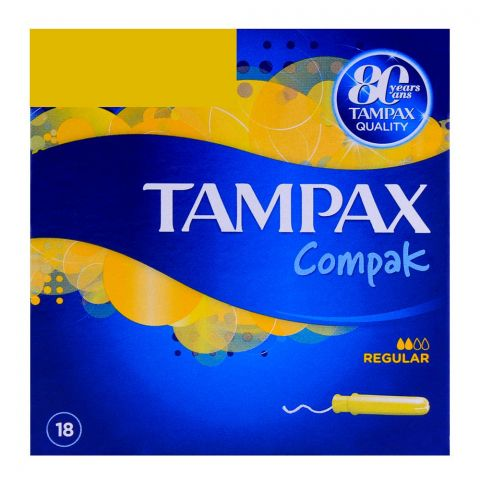 Tampax Compak Regular 18-Pack