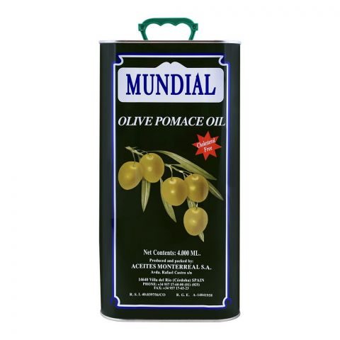 Mundial Olive Pomace Oil 4 Litres