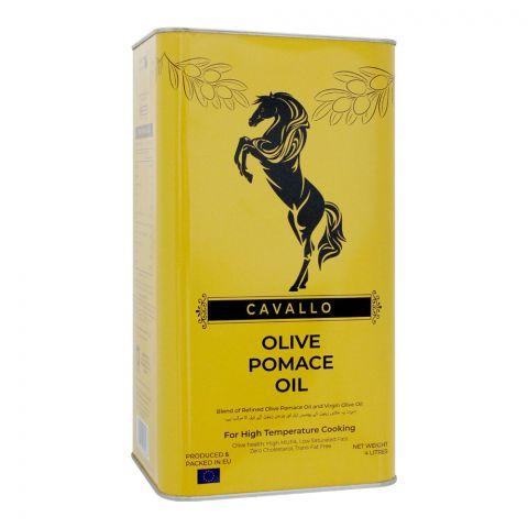 Cavallo Olive Pomace Oil, 4 Liters