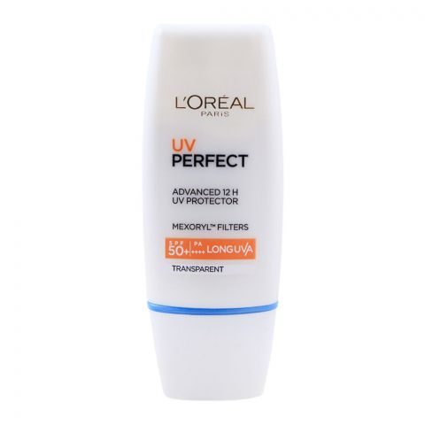 L'Oreal Paris UV Perfect, Advanced 12H UV Protector, SPF 50+ PA++++, 30ml