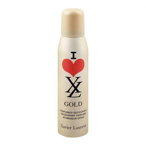 Xavier Laurent Gold I Love Women Deodorant Body Spray, 150ml