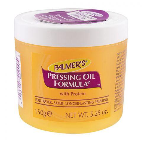 Palmer's Pressing Oil Formula With Protein, Paraben Free, Jar, 150g