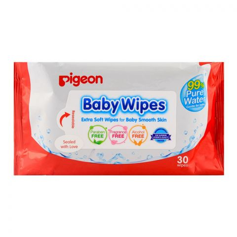 Pigeon Baby Wipes 30-Pack