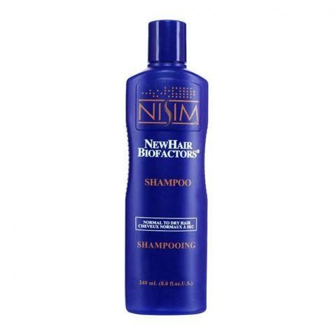 Nisim Normal To Dry Hair Shampoo, Sulfate Free, 240ml