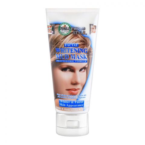 Hollywood Style Facial Whitening Mud Mask 150ml