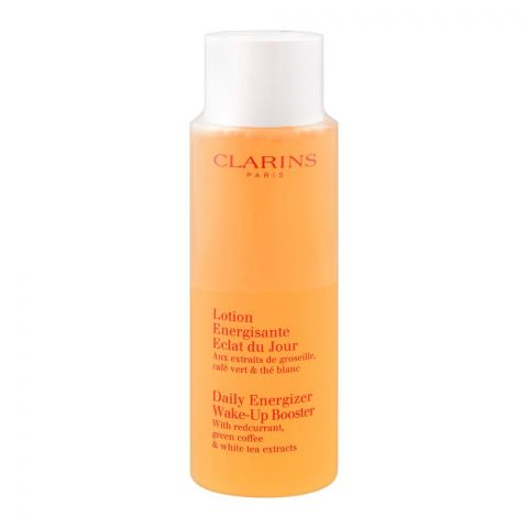 Clarins Paris Daily Energizer Wake-Up Booster, With Green Coffee & White Tea Extracts, 125ml