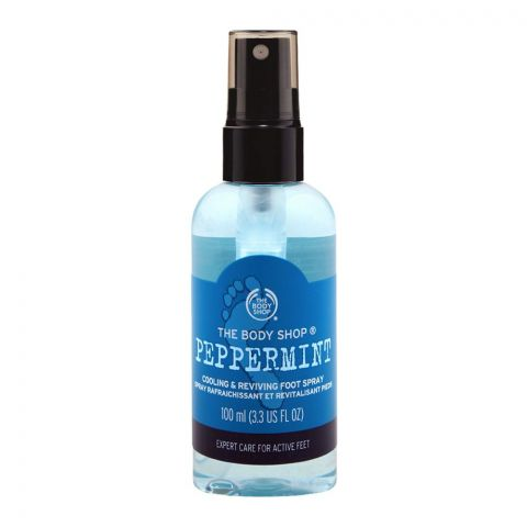 The Body Shop Peppermint Cooling & Reviving Foot Spray
