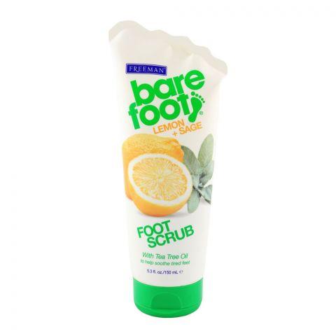 Freeman Bare Foot Revitalizing Lemon & Sage Scrub 150ml