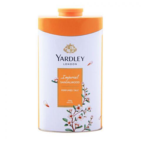 Yardley Imperial Sandalwood Perfumed Talcum Powder, 250g