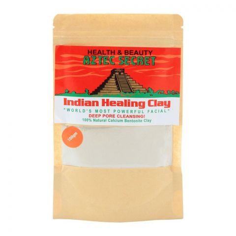 Aztec Secret Indian Healing Clay, Deep Pore Cleansing, 100g