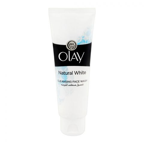 Olay Natural White Cleansing Face Wash, 100g
