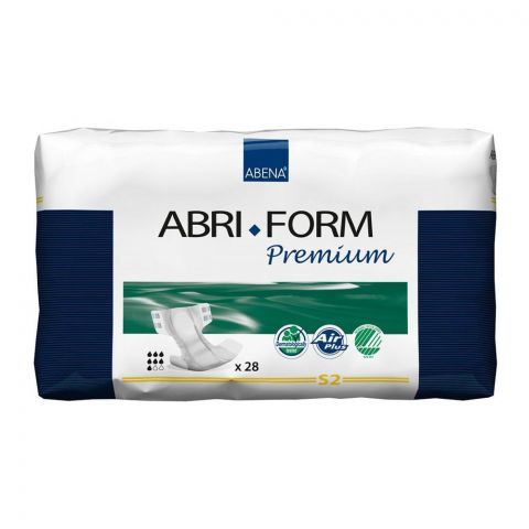 Abena Abri Form Premium Adult Incontinence Pads, Small, 24-34 Inches, 28-Pack