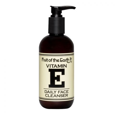 Fruit Of The Earth Vitamin E Daily Face Cleanser, 237ml