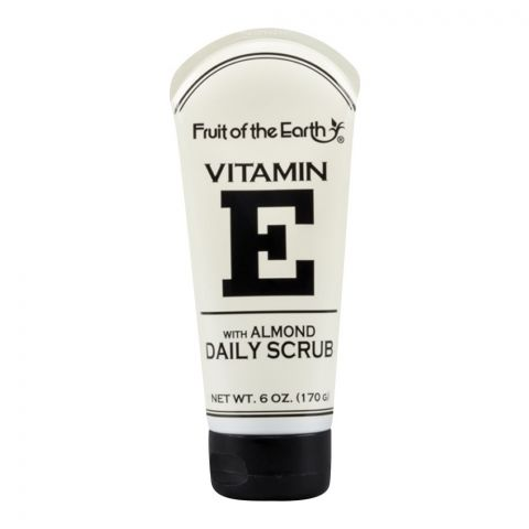 Fruit Of The Earth Vitamin E Daily Almond Scrub, 170g