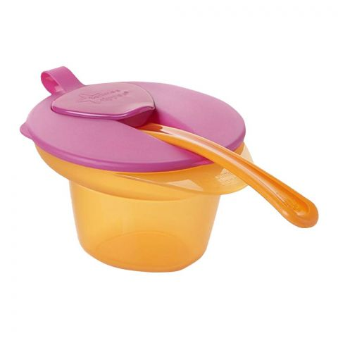 Tommee Tippee Weaning Feeding Bowl 6m+