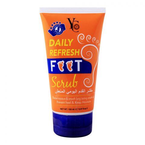 YC Daily Refresh Foot Scrub, 150ml
