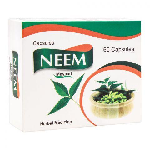 Meyaari Neem Capsules, 60-Pack