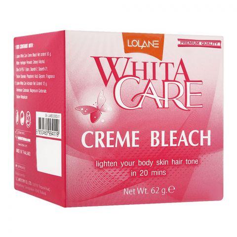 Lolane White Care Cream Bleach, 62g