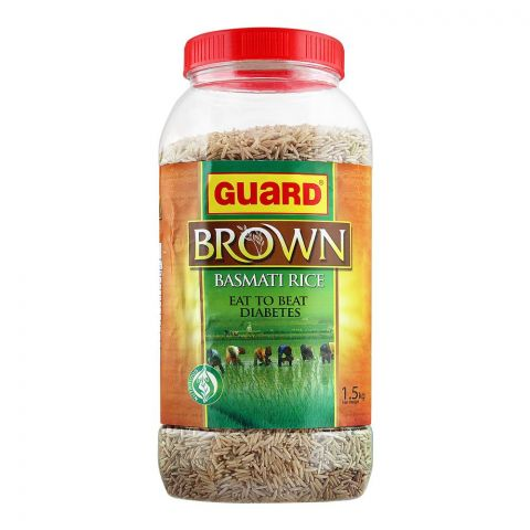 Guard Brown Basmati Rice, 1.5 KG