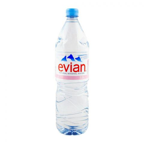 Evian Mineral Water 1.5 Litres