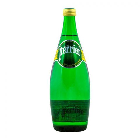 Perrier Sparkling Natural Mineral Water 750ml Bottle