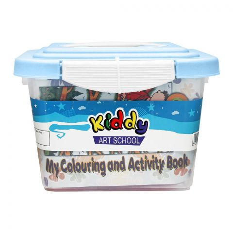 Kiddy Art School My Coloring & Activity Box, KD-30+