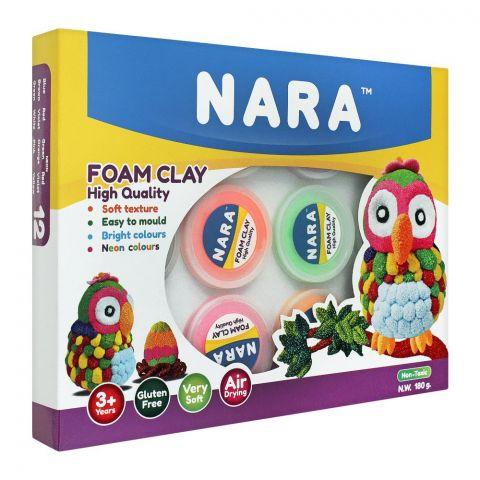 Nara High Quality Foam Clay, 3+ Years, 180g, FO-180-12