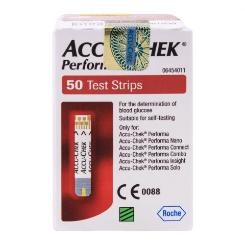 Accu-Chek Performa Blood Glucose Strip, 50 Count