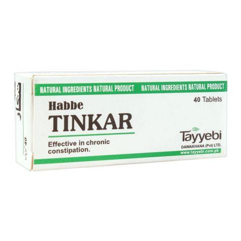 Tayyebi Habbe Tinkar Tablets, 40-Pack