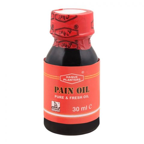 Haque Planters Pain Oil, 30ml