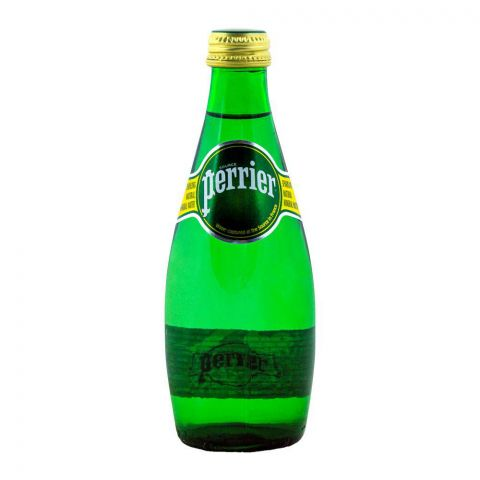 Perrier Sparkling Natural Mineral Water 330ml Bottle