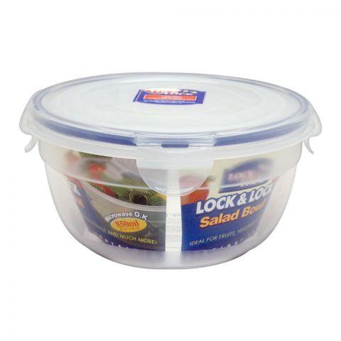 Lock & Lock Air Tight Round Salad Bowl, 850ml, LLHSM944