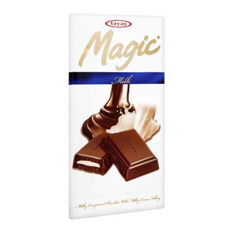 Tayas Magic Milk Chocolate Bar, 80g